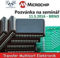 SeminářMICROCHIP,Brno,11.5.2016