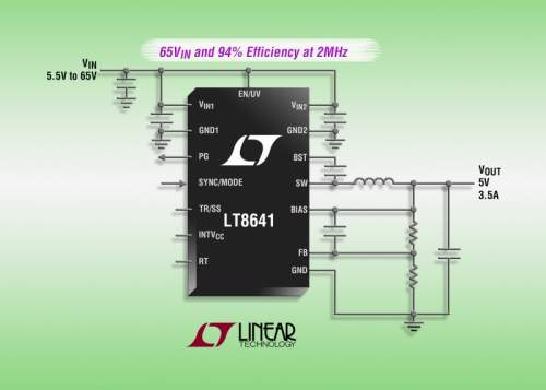 Linear Technology LT8641 Offers a Unique Mix of Features