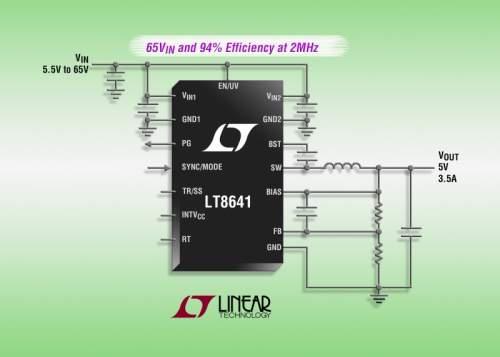 LinearTechnologyLT8641nabízíunikátnímixvlastností