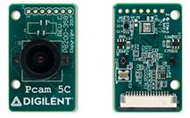 RS Components stocks 5-megapixel colour imaging module for FPGA development boards