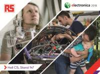 RS Components to focus on the innovative and the inspirational at electronica 2018